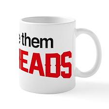 I Love Them Redheads Small Mugs