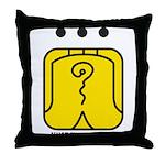 YELLOW Electric WARRIOR Throw Pillow