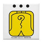 YELLOW Electric WARRIOR Tile Coaster