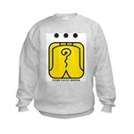 YELLOW Electric WARRIOR Kids Sweatshirt