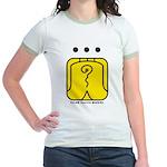 YELLOW Electric WARRIOR Jr. Ringer T-Shirt