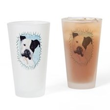 Unique Adore pit bull Drinking Glass