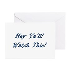 Unique Y'all Greeting Cards (Pk of 10)