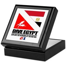 Dive Egypt Keepsake Box