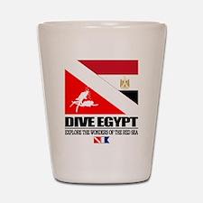 Dive Egypt Shot Glass