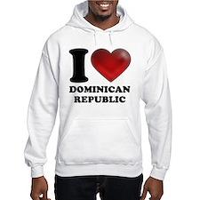 I Heart Dominican Republic Hoodie