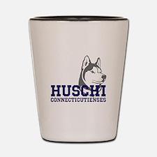 Huschi Connecticutienses Shot Glass