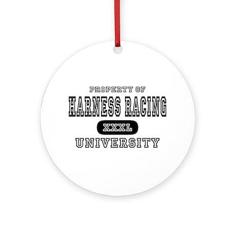 Harness Racing University Ornament (Round)