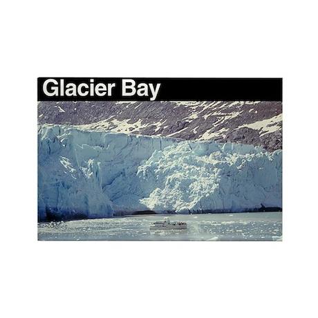 Glacier Bay National Park Rectangle Magnet