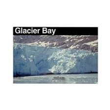 Glacier Bay NP Rectangle Magnet