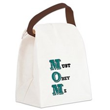 Must obey me Canvas Lunch Bag