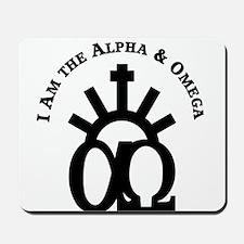 The Alpha & Omega Mousepad