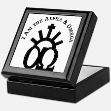 The Alpha & Omega Keepsake Box