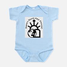 Earth's Death-Grip Undone! Infant Bodysuit