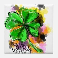Happy St Paddy's Day Tile Coaster