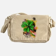 Happy St Paddy's Day Messenger Bag