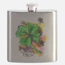 Happy St Paddy's Day Flask