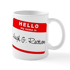 Hugh G. Rection Small Mug