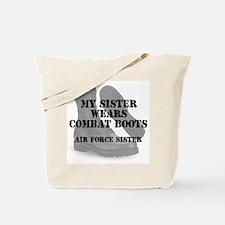 AF Sister wears CB Tote Bag
