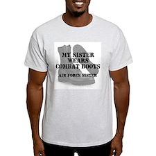 AF Sister wears CB T-Shirt