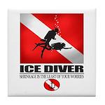 Ice Diver 2 Tile Coaster