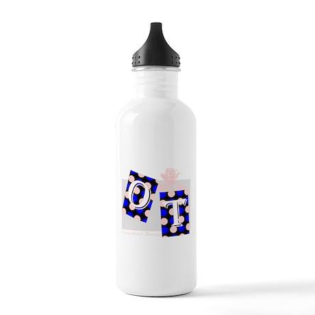 ot puzzle aqua Stainless Water Bottle 1.0L