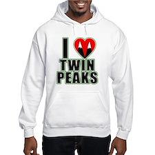 I Love Twin Peaks Hoodie