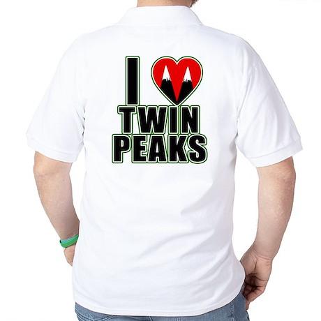 I Love Twin Peaks Golf Shirt
