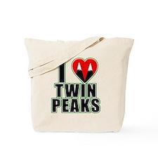 I Love Twin Peaks Tote Bag