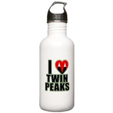 I Love Twin Peaks Water Bottle