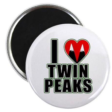 I Love Twin Peaks Magnet
