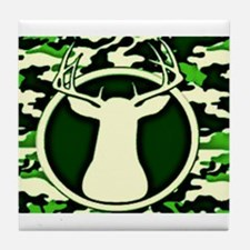 Camo Deer Tile Coaster