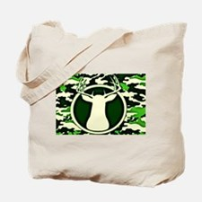 Camo Deer Tote Bag