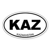 Kazakhstan Stickers & Flair