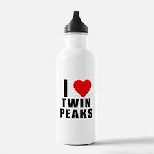 I Heart Twin Peaks Water Bottle