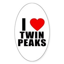 I Heart Twin Peaks Decal