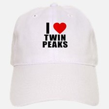I Heart Twin Peaks Baseball Baseball Cap