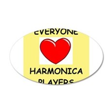 harmonica Wall Decal