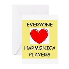 harmonica Greeting Cards (Pk of 10)