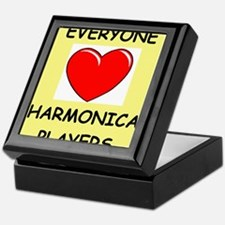 harmonica Keepsake Box