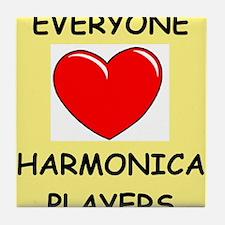 harmonica Tile Coaster