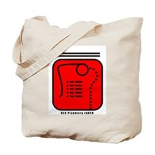 RED Planetary EARTH Tote Bag