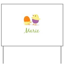 Easter Chick Marie Yard Sign