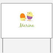 Easter Chick Marina Yard Sign