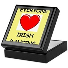 irish dance Keepsake Box