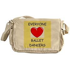 ballet Messenger Bag