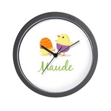 Easter Chick Maude Wall Clock