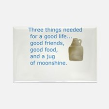 Good friends...Good food...Jug of moonshine Rectan
