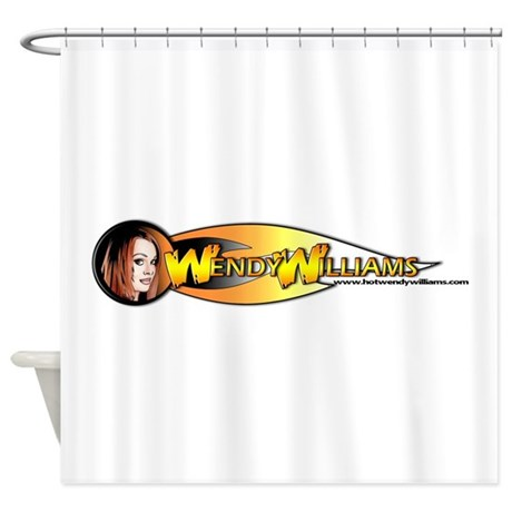 Largelogo Shower Curtain By Tswendy