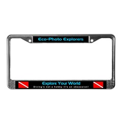 Scuba Diving, License Plate Frame, Auto